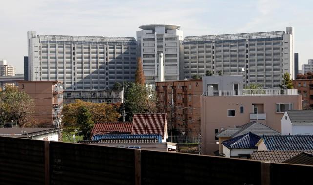 Le Centre de détention de Tokyo, où l'ex-président... (Photo TORU HANAI, REUTERS)