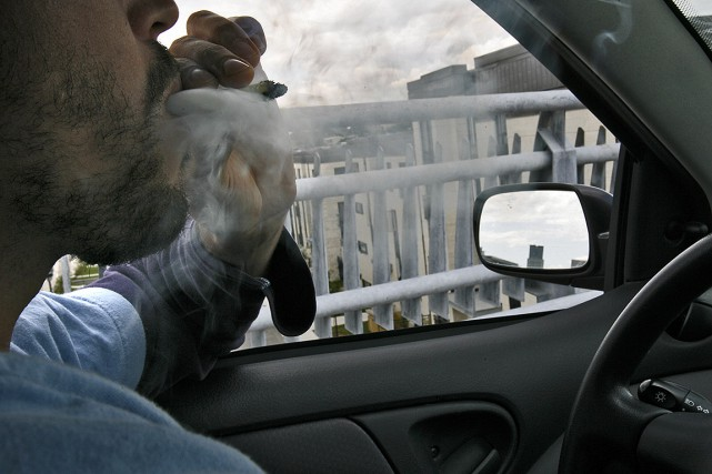 Plus d'un mois après la légalisation du cannabis, la Société de l'assurance... (Photo Patrick Sanfaçon, archives La Presse)