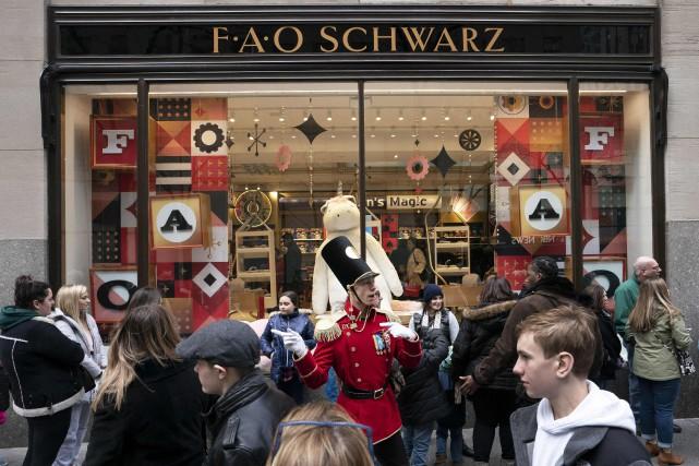 La magie de Noël fait renaître un magasin de jouets historique à New York f6e7c10aaa7e