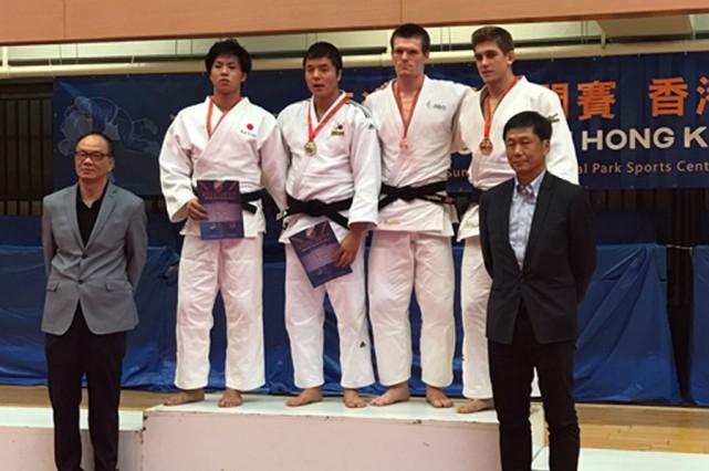 Lors de la finale pour le bronze, le... (Photo Judo Canada)