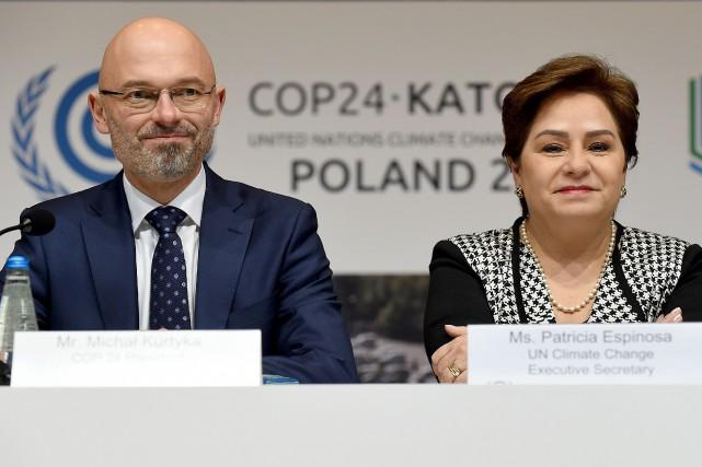 Le secrétaire d'État dans le ministère de l'Environnement... (Photo JANEK SKARZYNSKI, Agence France-Presse)