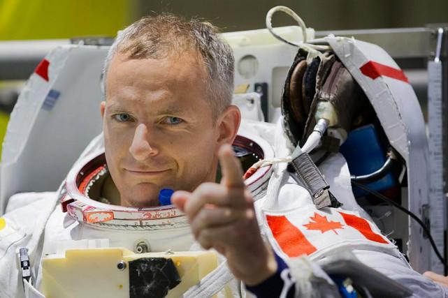 L'astronaute québécois David Saint-Jacques... (Photo EDOUARD PLANTE-FRÉCHETTE, archives La Presse)