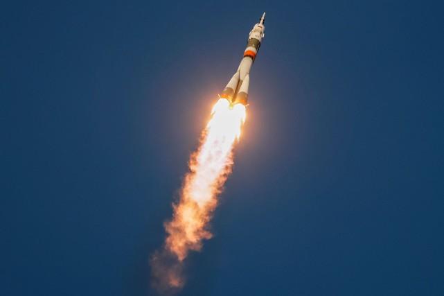 David Saint-Jacques: la capsule Soyouz amarrée à la Station spatiale internationale