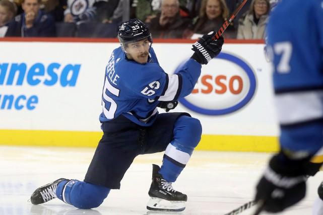 Mark Scheifele a récolté huit points en quatre... (Photo Trevor Hagan, La Presse canadienne)