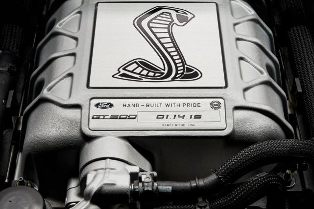Ford a diffusé cette photo du V8 de... (Photo Ford)