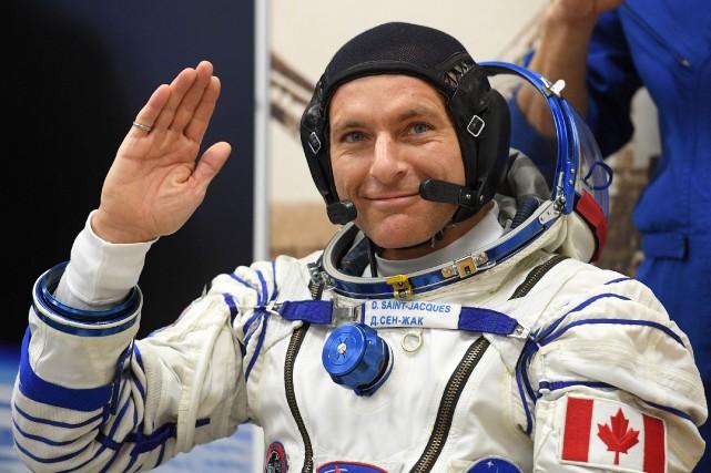 David Saint-Jacques arrive dans la Station spatiale internationale