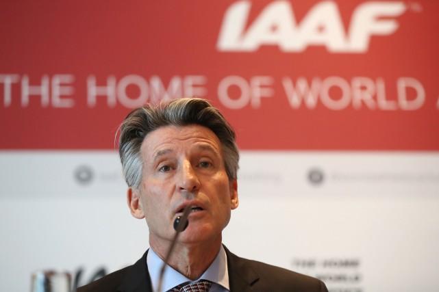 Le président de la Fédération internationale d'athlétisme (IAAF),... (Photo Valery Hache, Agence France-Presse)