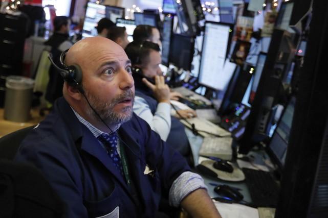 «La réaction instinctive des marchés au cessez-le-feu entre... (Photo Richard Drew, AP)
