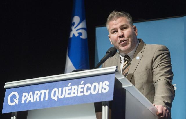Le chef par intérim du Parti québécois (PQ),... (Photo Graham Hughes, La Presse canadienne)