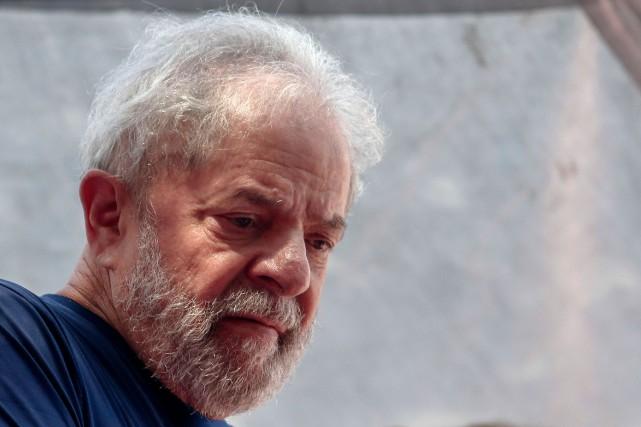 Les avocats de Lula avaient déjà présenté ces... (Photo MIGUEL SCHINCARIOL, archives Agence France-Presse)