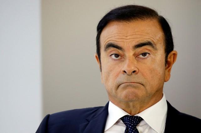 Carlos Ghosn, ex-président du conseil d'administration de Nissan,est... (Photo REUTERS)
