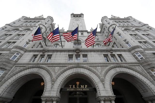 Désireuses de s'attirer les bonnes grâces de DonaldTrump,... (Photo Alex Brandon, archives AP)