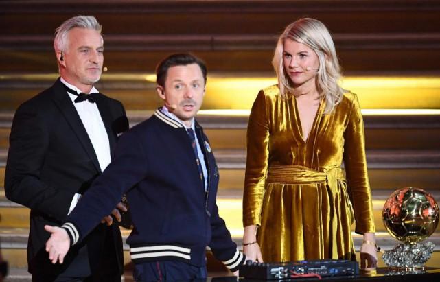 Lorsde la cérémonie du Ballon d'or, Martin Solveig... (PhotoFRANCK FIFE, Agence France-Presse)