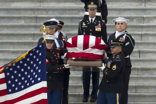 Funérailles de George H. W. Bush: l'Amérique un temps réconciliée