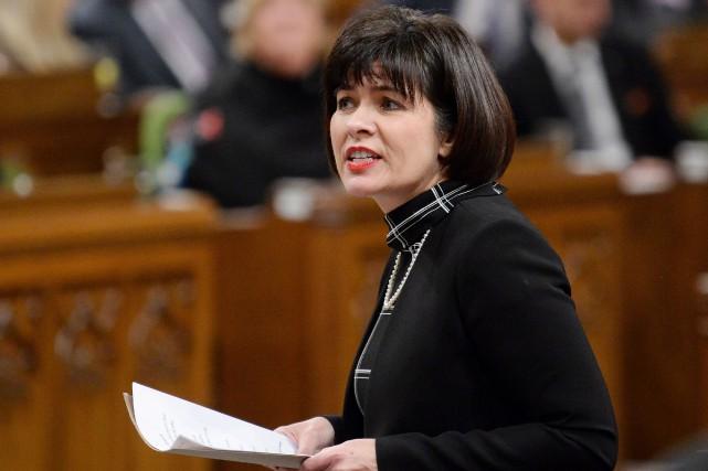 Ginette Petitpas Taylor... (Photo Adrian Wyld, La Presse canadienne)