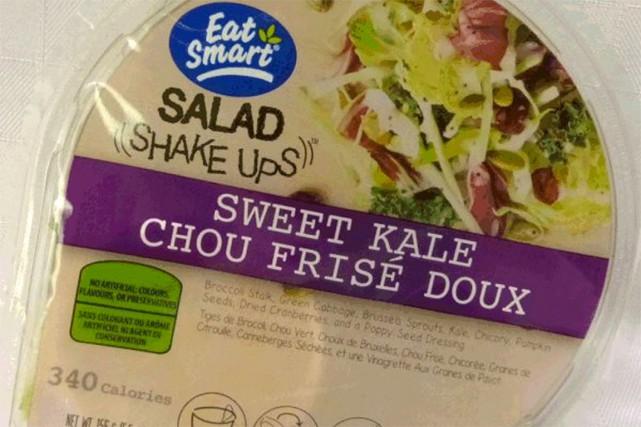 L'Agence canadienne d'inspection des aliments indique mercredi qu'une salade de... (Photo tirée du site www.inspection.gc.ca)