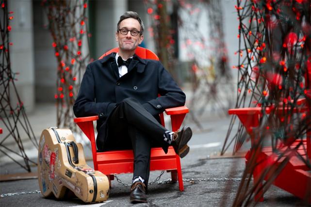 David Myles présentera son spectacle It's Christmas le... (Photo David Boily, La Presse)
