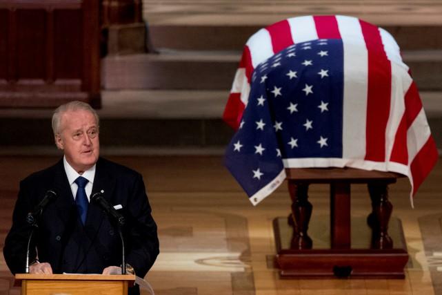 George H. W. Bush était un gentleman, dit Brian Mulroney