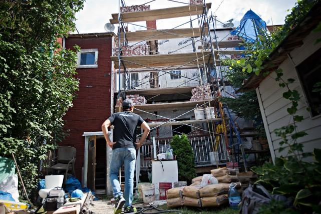 Les délais pour obtenir un permis de construction àMontréal se sont améliorés... (Photo Patrick Sanfacon, archives La Presse)