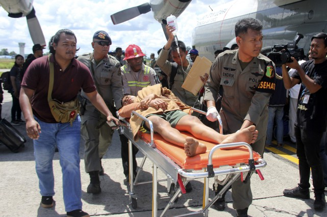 Les victimes n'ont pas encore été identifiées et... (Photo Associated Press)