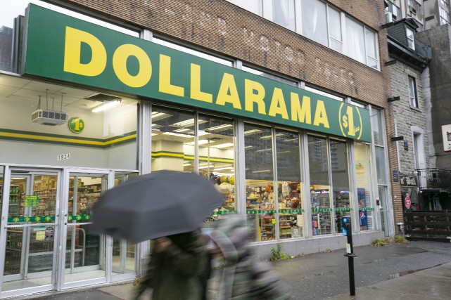Les ventes de Dollarama ont augmenté de 6,6%... (Photo David Boily, La Presse)