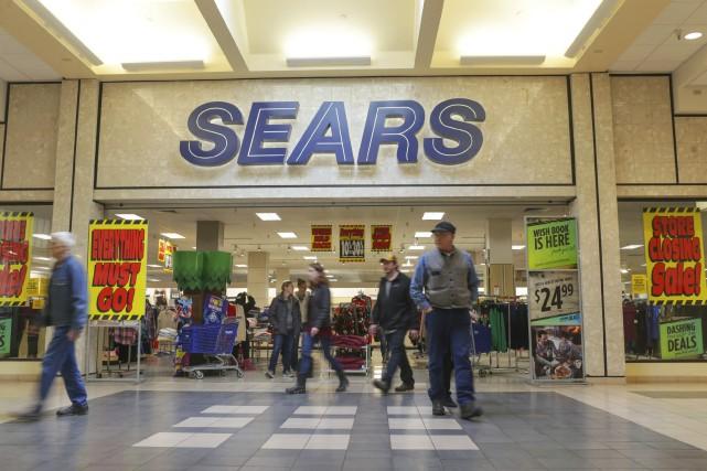Sears s'est placée en octobre sous la protection... (Photo John Roark, archives Associated Press)