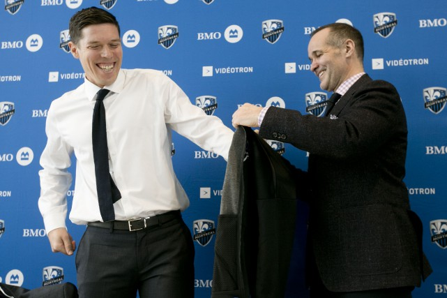 Le nouveau directeur administratif des opérations soccer de... (Photo François Roy, La Presse)
