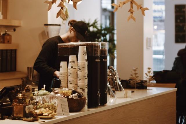 Un café Faro vient d'ouvrir rue Sainte-Catherine Ouest,... (Photo fournie par le café Faro)