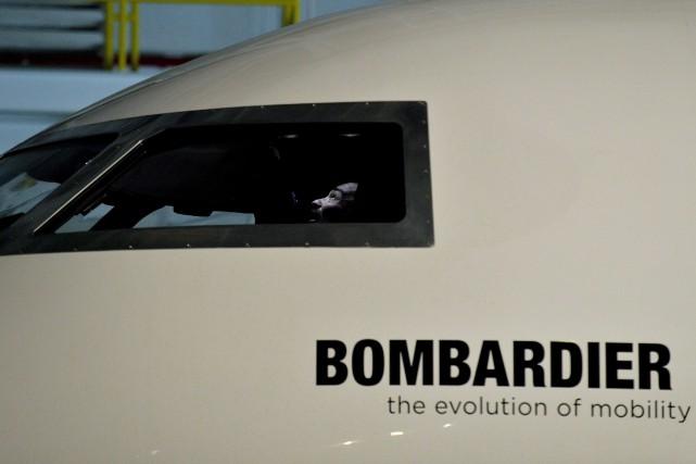 Bombardier prévoit aussi livrer deux nouvelles variantes long-courriers... (Photo Nathan Denette, archives La Presse canadienne)