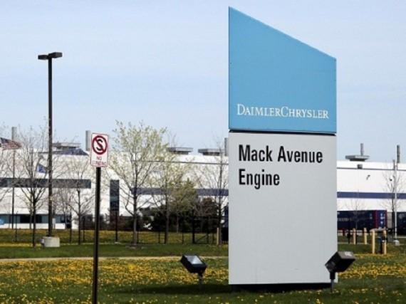 L'usine de moteurs de l'avenue Mack, fermée depuis... (Photo Allpar)