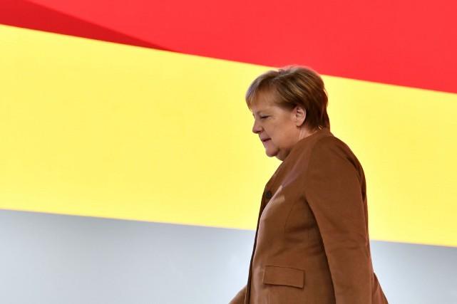 Le parti de l'Union chrétienne-démocrate doit élire le... (Photo JOHN MACDOUGALL, AFP)