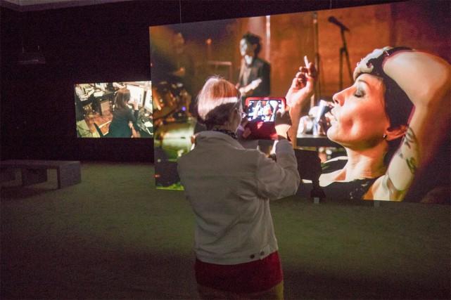 Le Musée d'art contemporain présente en ce moment... (Photo Patrick Sanfaçon, La Presse)