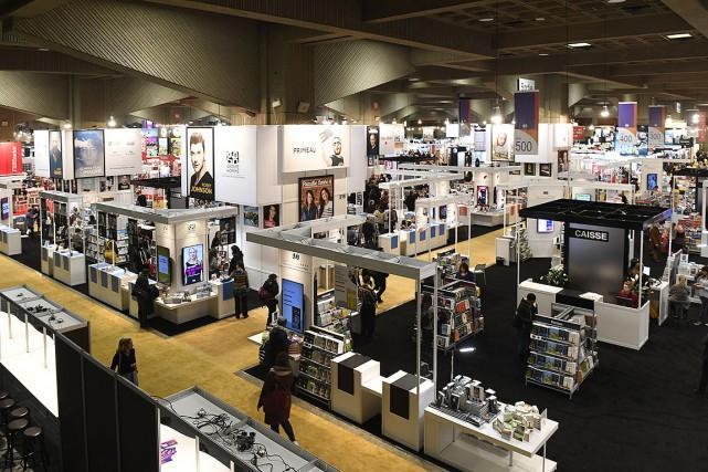 Le Salon du livre, le 14novembre dernier.... (Photo Bernard Brault, archives La Presse)