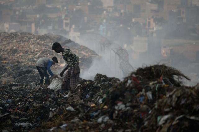 L'Inde a été l'un des principaux pays destinataires... (Photo SAJJAD HUSSAIN, AFP)