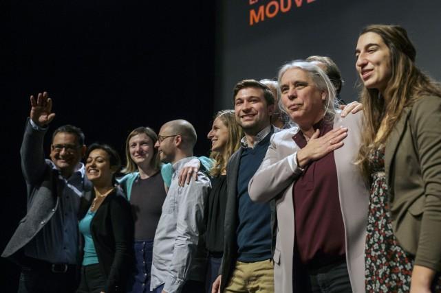 La chef parlementaire de Québec solidaire (première à... (Photo Olivier Jean, La Presse)