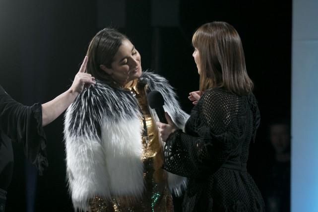 Mariana Mazza, à nouveau en lice pour l'Olivier... (PHOTO FRANÇOIS ROY, LA PRESSE)