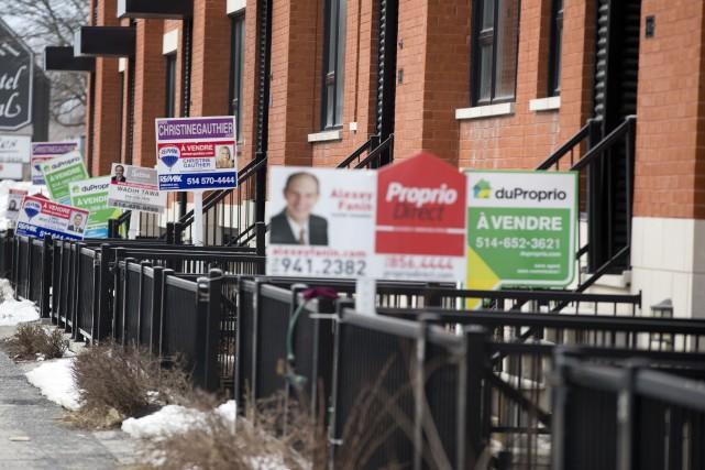 Les prix des habitations à Montréal et dans... (Photo FRANÇOIS ROY, archives La Presse)