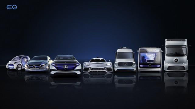 Mercedes entend offrir 130 variantes de voitures et... (Photo Daimler AG)