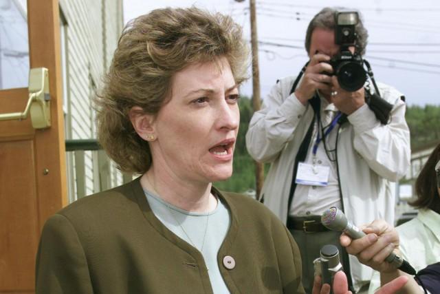 L'ancienne première ministre libérale du Yukon Pat Duncan... (Photo archives La Presse canadienne)
