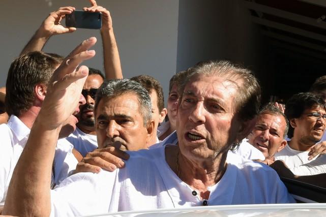 Joao de Deus a fait mardi une première... (PHOTO AFP)