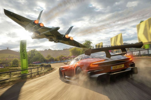 Forza Horizon 4... (Photo fournie par Microsoft.)