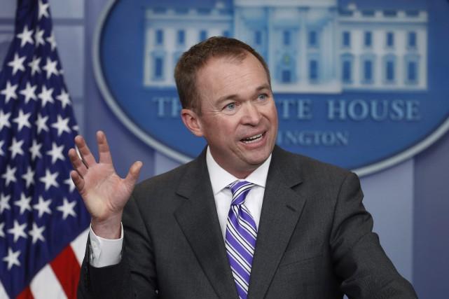 Trump nomme Mick Mulvaney comme chef de cabinet par intérim