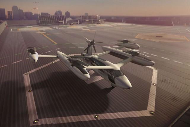 Les appareils à décollage et atterrissage verticaux (ADAV)... (Photo La Presse canadienne)