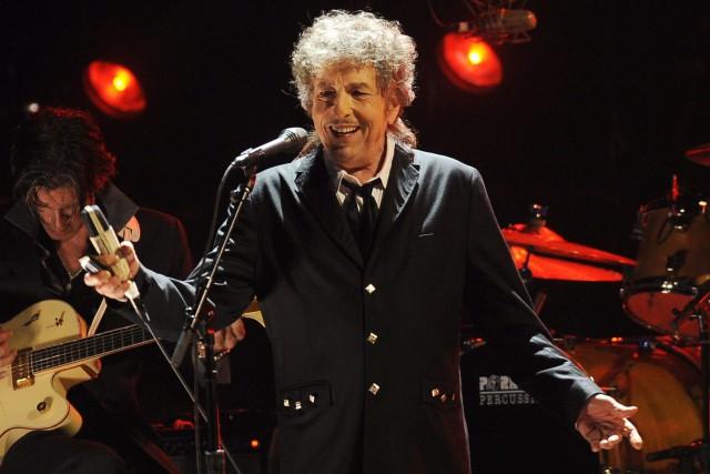Bob Dylan à Los Angeles en 2012.... (PHOTO AP)