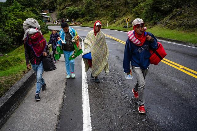 Depuis 2015, plus de 3millions de Vénézuéliens ont... (Photo Federico Rios, The New York Times)