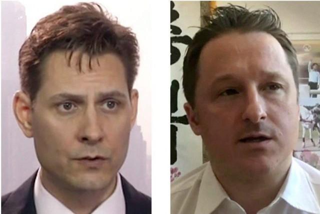 Canadiens détenus en Chine: Ottawa et les É.-U. réclament leurlibération