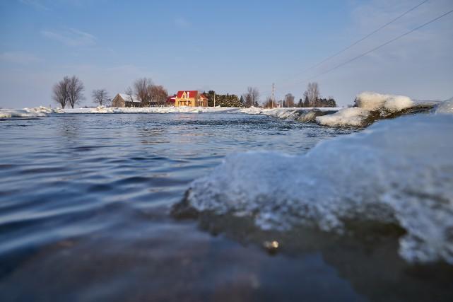 Les cours d'eau sous surveillance au Québec
