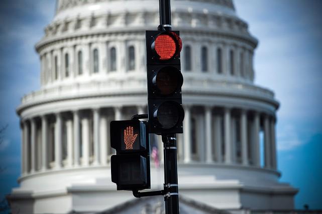 La fermeture partielle des administrations fédérales américaines pourrait durer... (Photo SAUL LOEB, archives Agence France-Presse)