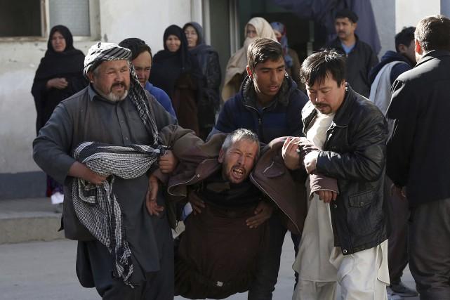 Au moins 29morts et 20 blessés dans un attentat à Kaboul
