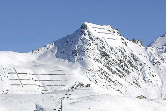 Une station de ski, dans la Savoie, en... (Photo archives La Presse)